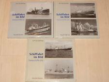 Sammlung Schiffahrt im Bild Trampschiffe Band 1, 2 und 3 Hardcover!