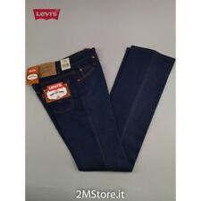 LEVI'S jeans LEVIS 417 donna original bootcut zampa stretch denim Blu nuovi