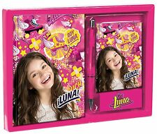 Daily Agenda of the Series TV Soy Luna with Book and Pen NOVELTY