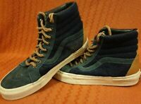 Vans Blue Suede High top Rope Lace Size 6 Mens US 7 Womens US 8.5