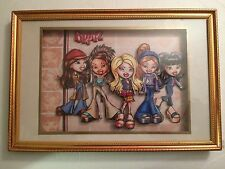 Brats Dolls 3 Dimensional Rare Shadow Box Frame Picture  #161