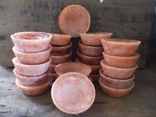 24 Cinna Bun Wax Tarts Melts Christmas Autumn Fall Bakery Cinnamon Roll