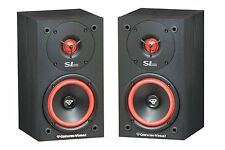 "NEW (2) Cerwin Vega SL5M 5.25"" Surround Sound Satelite Bookshelf Speakers.Pair."