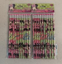 Disney Minnie Bowtique 24pk. Pencils. School Supplies Stocking Stuffer Gift Bags