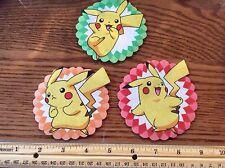 Pokemon Fabric Iron On Appliques (style# 2)