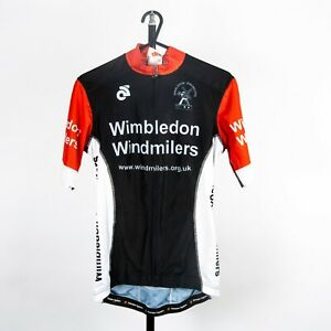 Men's Wimbledon Windmilers CS Tech Short Sleeve Cycling Jersey - UK Seller