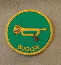 Bugler Position Patch (1972-89)   B00014