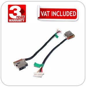 HP 15-AY 15-BA 15-DA 15-DB 250 255 G4 G5 DC Jack Socket Power Cable 799736-F57