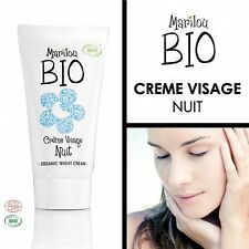 Crème de nuit Visage - Marilou Bio