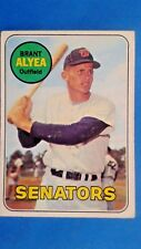 1969 Topps Brant Alyea Washington Senators Baseball Card #48