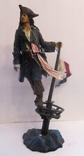 Jack Sparrow Master Replicas Figure with Treasure Chest Box,  Number 61 of 2000