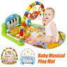 3in1 Krabbeldecke Spieldecke Spielbogen Spielmatte Erlebnisdecke Musik Baby