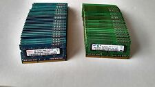 Lot of 300 x 1GB DDR3 Memory RAM SO-DIMM 1Rx8  PC3-8500S Hynix Samsung Micron