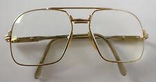 CAZAL 703 Brille Gold eyeglasses Fassung occhiali RAR Vintage 80er