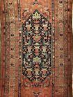 Terrific Tribal - 1900s Antique Oriental Rug - Nomadic Carpet - 3.8 x 6.6 ft.