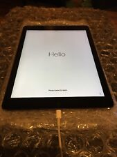 Apple iPad Air 1 A1474 32 GB Wifi Nero/SAPCE Alloggiamento Grigio