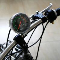 Vintage Style Analog Distance Speed Meter Bike Bicycle Speedometer Odometer KH