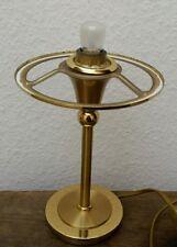 Edle Design B M Leuchten Messing Massiv Tischlampe Tischleuchte