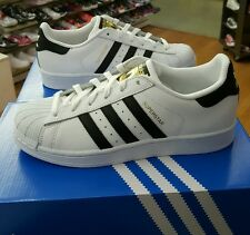ADIDAS WOMENS SUPERSTAR C77153 WHITE/BLACK US WOMEN SIZE 11
