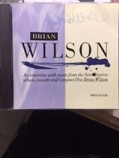 Autographed BRIAN WILSON WORDS AND MUSIC CD PROMO SIRE/REPRISE PRO-CD beach Boys