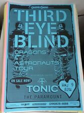 Third Eye Blind Tonic 2000 Seattle Concert Poster 11x17