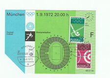 Orig.Ticket  Olympische Spiele München 1972  Fussball    KOLUMBIEN - GHANA ! TOP