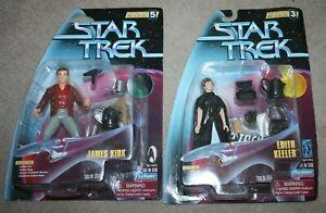 Star Trek TOS - Kirk & Edith Keeler - City on the Edge of Forever - Playmates