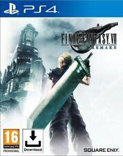 Final Fantasy 7 VII Remake - PS4 📥