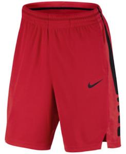 Mens Nike Dry Basketball Shorts Red/Black Size 2XL XXL 831390-657