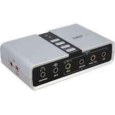 Startech 7.1 USB Audio Adapter External Sound Card