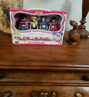 Sailor Moon World Doll Mini Collection Set Bandai Japanese Import Mint