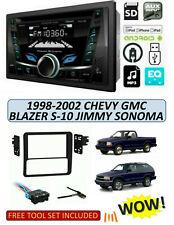1998-02 Chevrolet Blazer S-10 GMC Jimmy Sonoma STEREO KIT, BLUETOOTH AUX USB CD