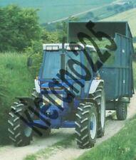 A3 Ford 5610 6610 7610 Vintage Tractor Brochure Poster Leaflet