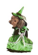 """Rubies Pet Shop Boutique Green LED Light Up Witch Dog Costume Large (20""""-22"""")"""