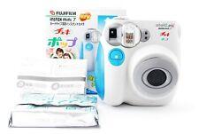 FUJIFILM Instax Mini 7S Blue Instant Film Camera w/Box from japan excellent+++