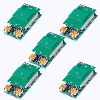 5pcs DC 5V 5.8GHz Microwave Radar Sensor Switch Module ISM Waveband 12m HFS-DC06