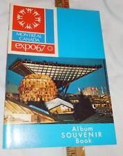 vintage Montreal Canada Expo67 Album Souvenir Book 1967
