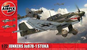 Brand New Airfix 1:72nd Scale Junkers Ju87B-1 Stuka Model Kit.