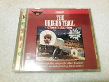 The Oregon Trail Classic Edition, Educational Cd-Rom Game, 1996