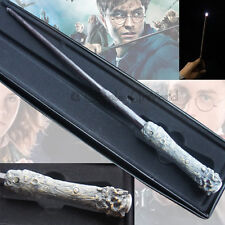 New Harry Potter Cosplay Replica Magical Wand Led Light Up Illuminating With Box
