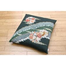 New Japanese Cushion Zabuton 55×59cm Cotton Polyester from Japan Free Shipping