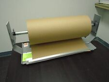 "15"" Paper Cutter Dispenser Gift Wrap Kraft Roll Paper Econo Line Duralov"