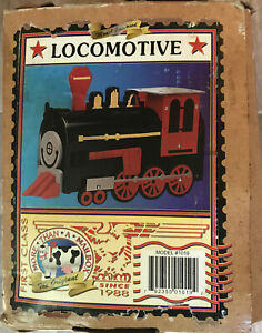 Vintage More Then A Mailbox Model Mail Box Locomotive Train Decoration 1995