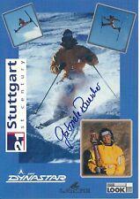 Gabriele rauscher ski freestyle autografiada tarjeta firmada 374443