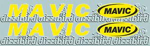 MAVIC VINTAGE RIM DECALS