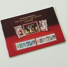 QUEEN ELIZABETH / THE QUEEN / UK ROYAL FAMILY ROYAL MAIL STAMP & BOOKLET SET.