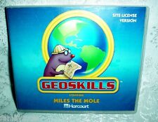 HARCOURT GOESKILLS STARRING MILES THE MOLE CD-ROM 2ND 3RD 4TH 5TH 6TH GRADE