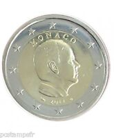 MONACO - pièce de 2 euro 2011, PRINCE ALBERT II, TTB