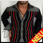 Chemise À Manches Longues Chemises Homme Blanc Slim Fit Noir Rouge S M L Xl Xxl
