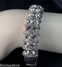 BRIDAL DIAMANTE  BANGLE IN GIFT BOX**BEAUTIFUL GIFT